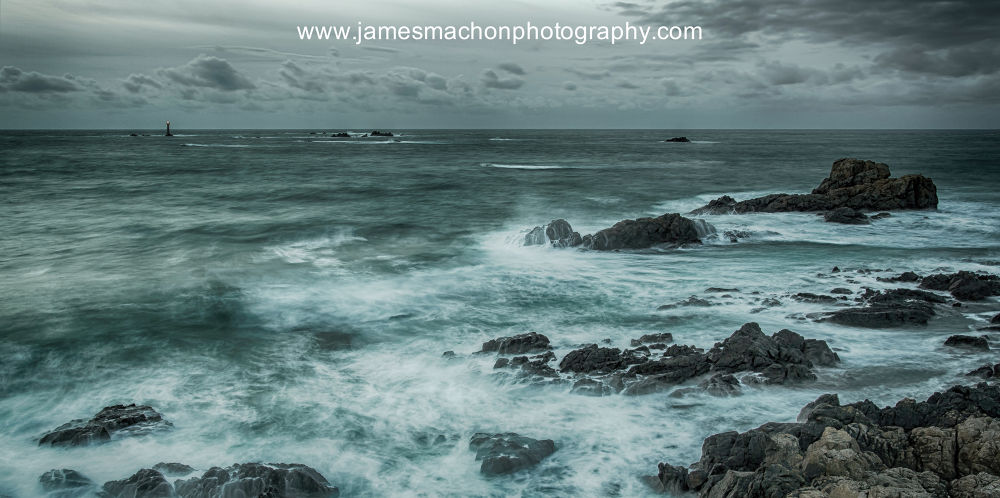 Winter Seas in Guernsey by James Machon Photography