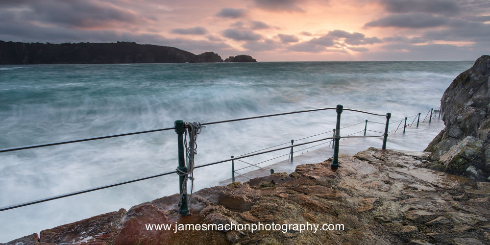 Saints Bay Harbour, Guernsey by James Machon Photography