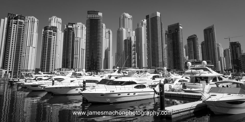Dubai Marina by James Machon Photography