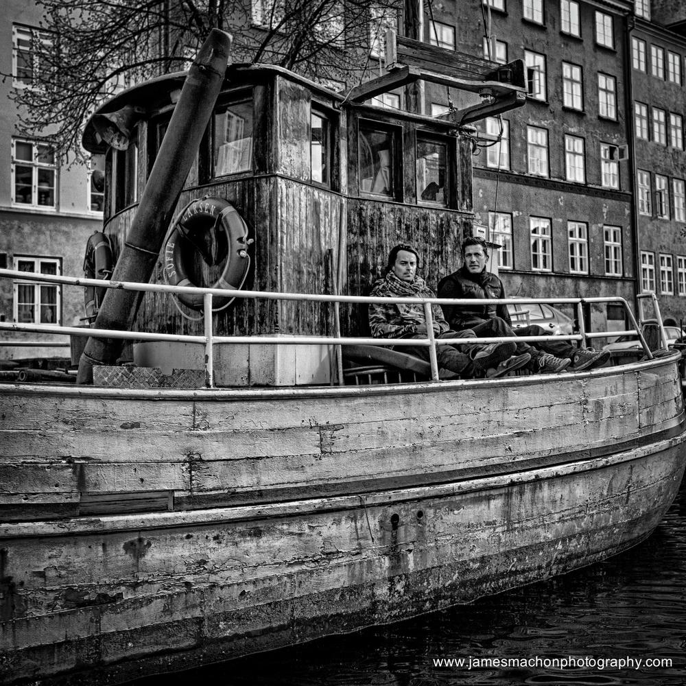 2 men and a boat by James Machon Photography