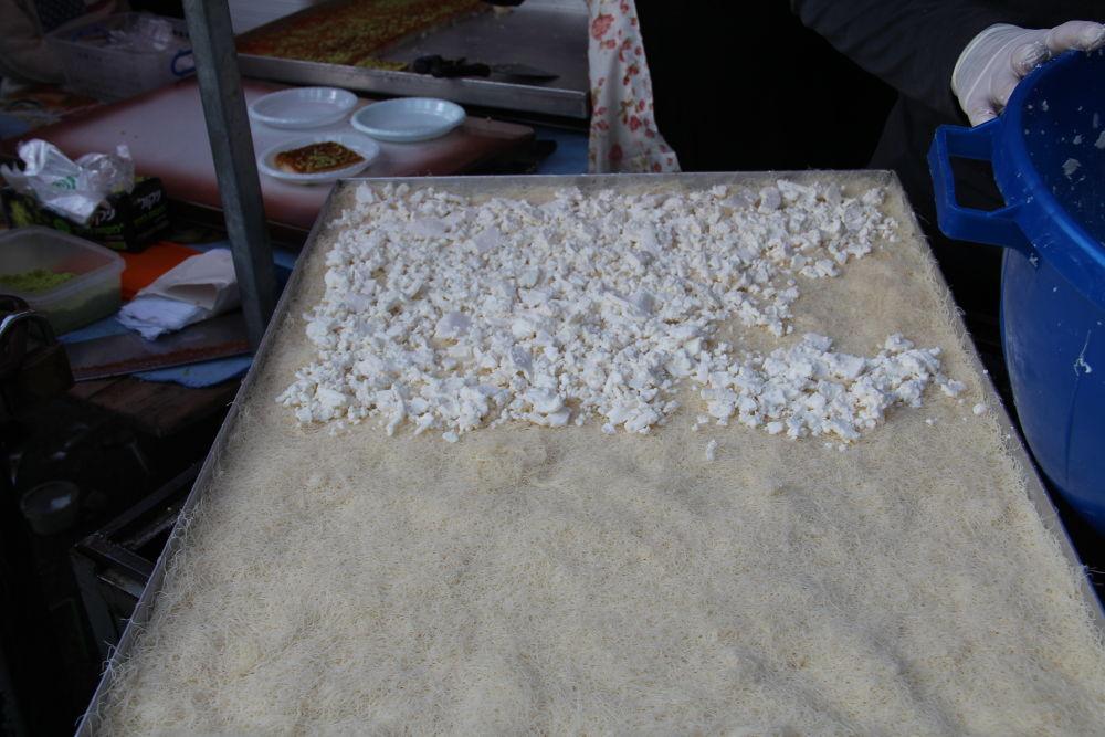 the first stage of making Knafa by dorikatzav