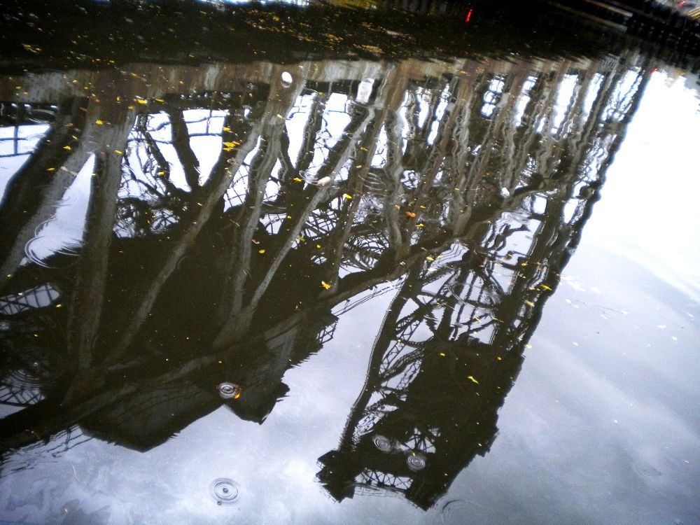 The Reflections of a Bridge by Corey Black