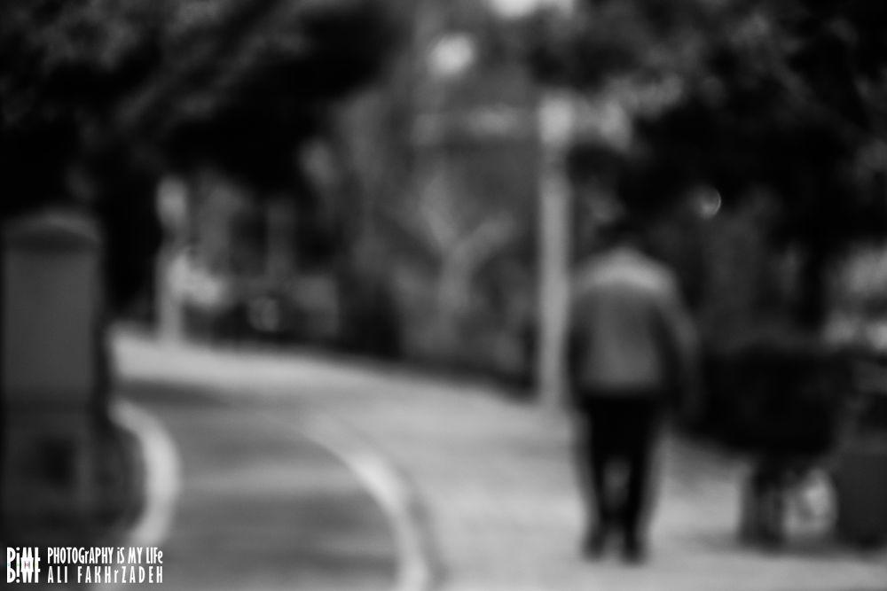 alone walk  by alifakhr