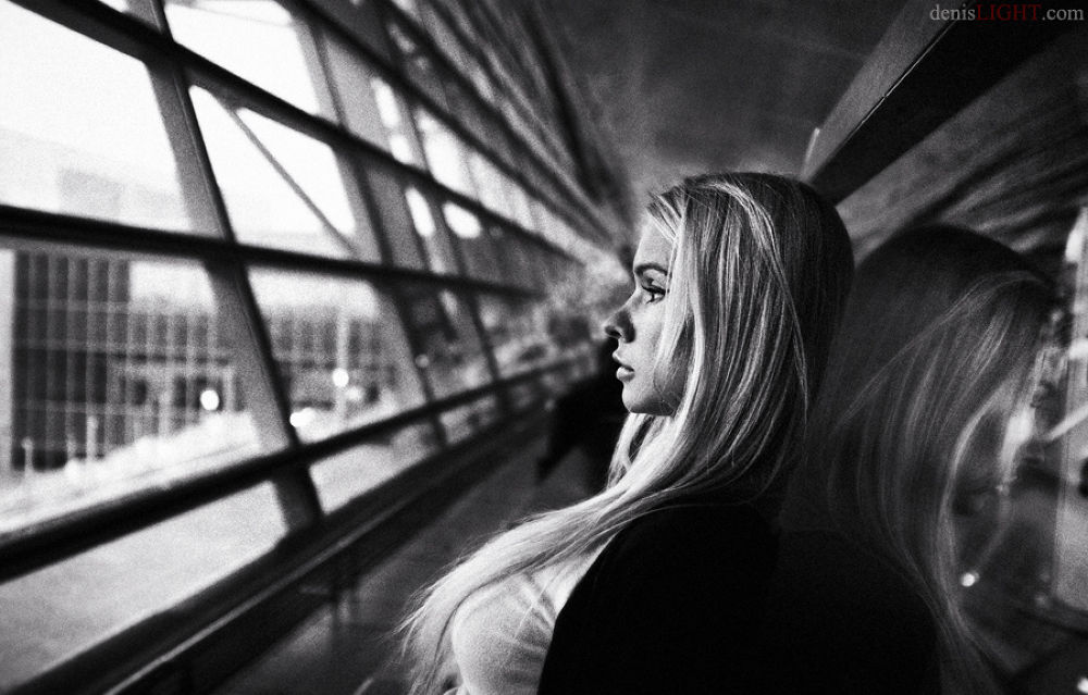 Expectation of departure by Denis Tankilevich