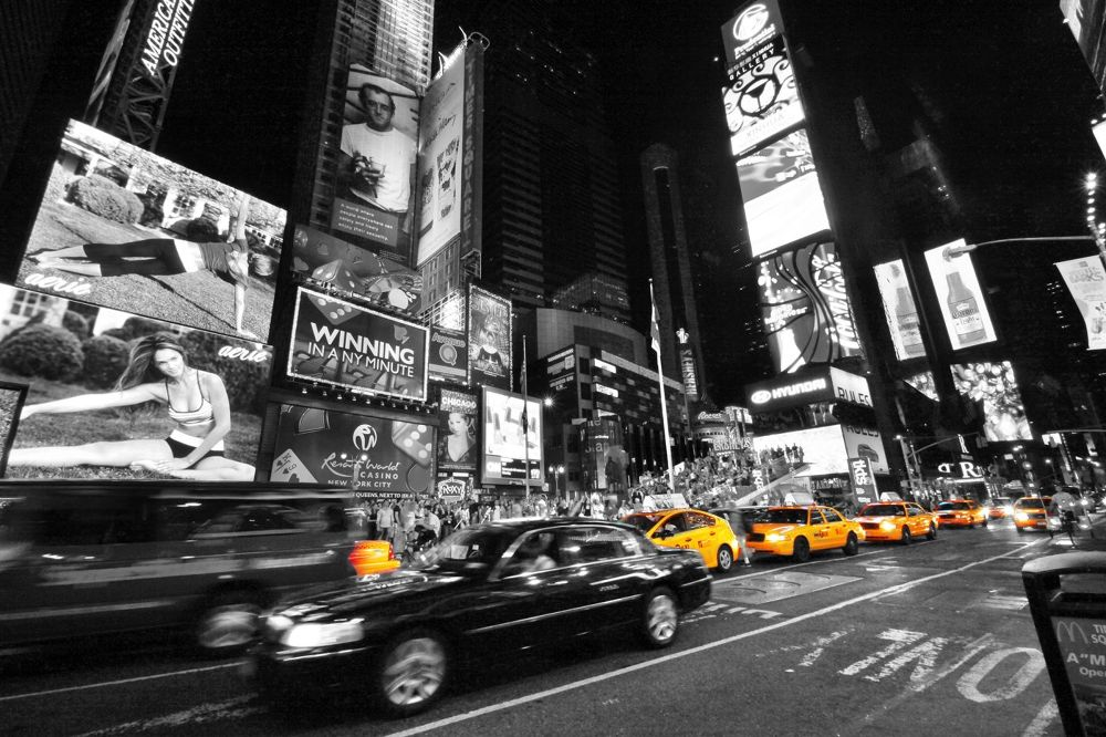 times square flow by  eduardo luna