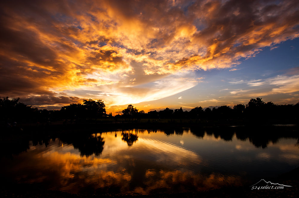 Sunset-Reflection by pix524