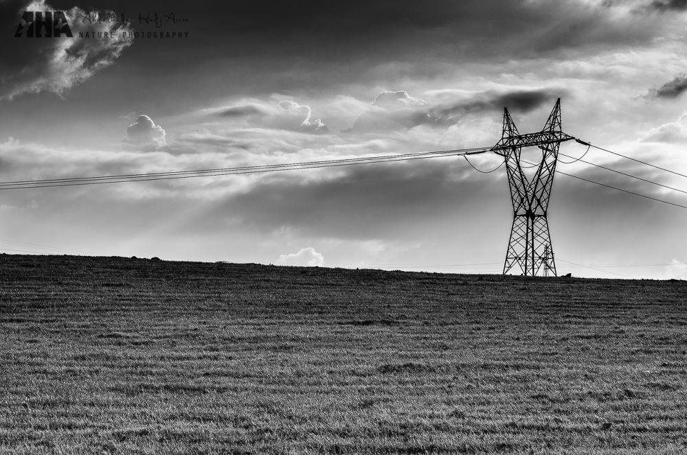 Electric Skies  by Abdelkader Hadj Aissa