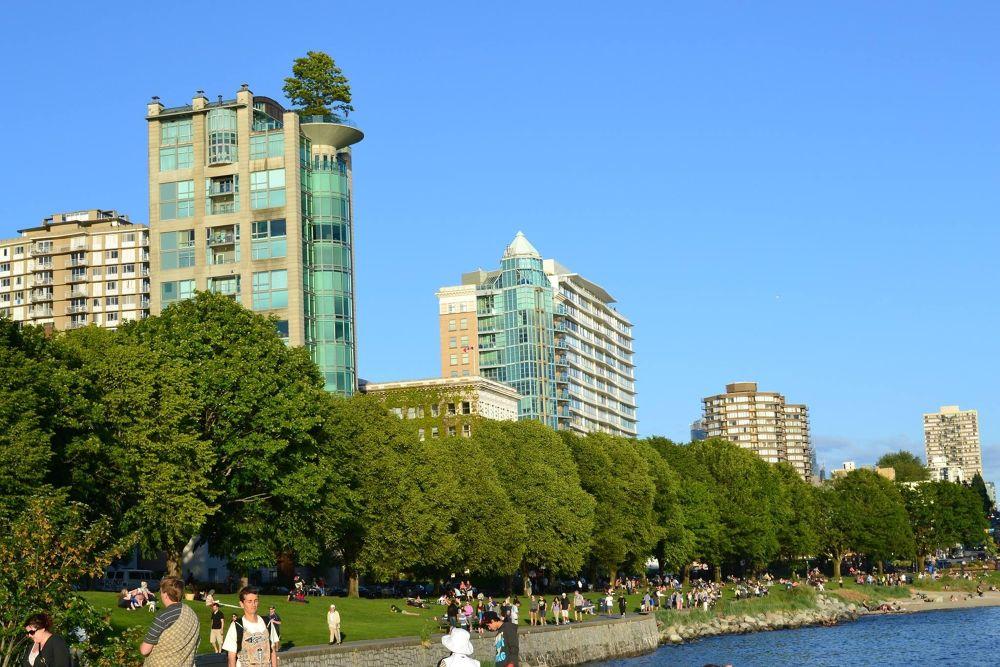 Beach Avenue Vancouver by John Nijjar
