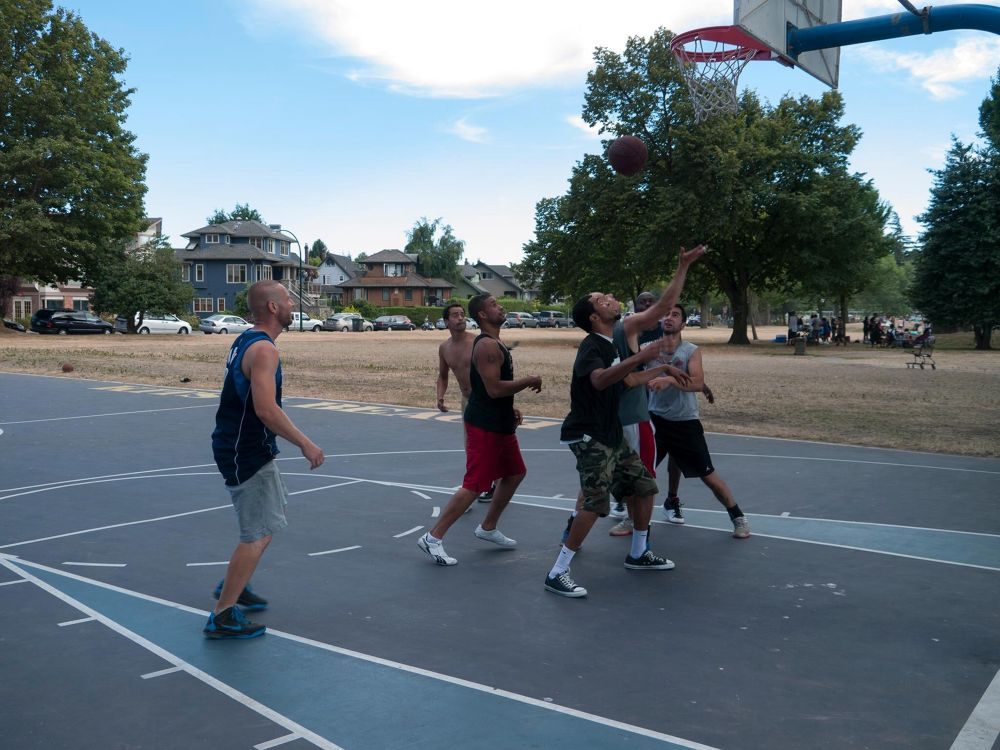 Kits Beach Basketball by John Nijjar