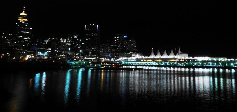 The Downtown Core Vancouver by John Nijjar