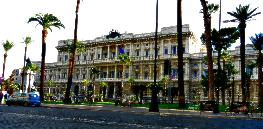 palazzo della giustizia di roma. piazza cavour, italy by armansibulo