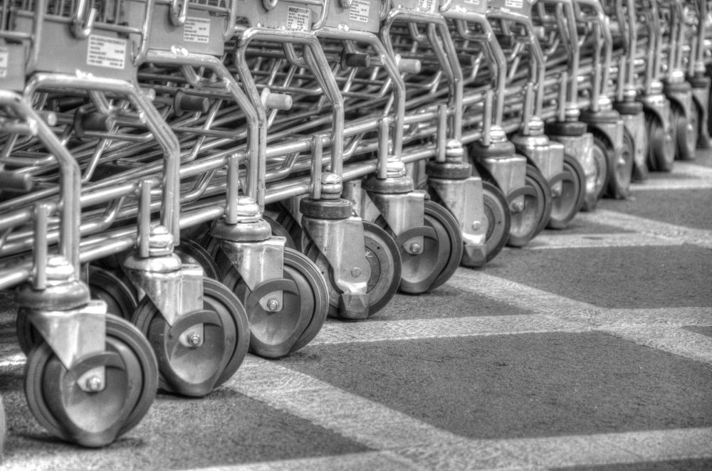 row of wheels by mahya