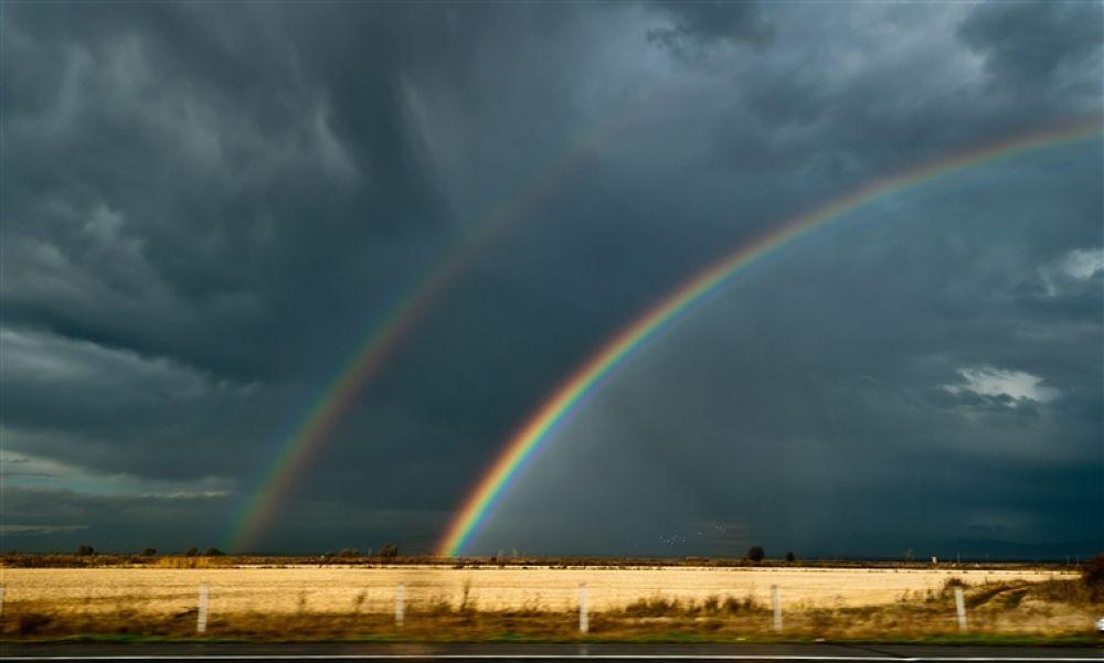 Photo in Random #double #rainbow