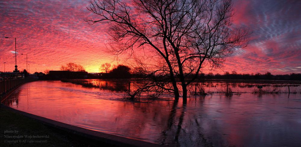 Salisbury - roughly 15 minutes before sunrise by Mieczyslaw Wojciechowski