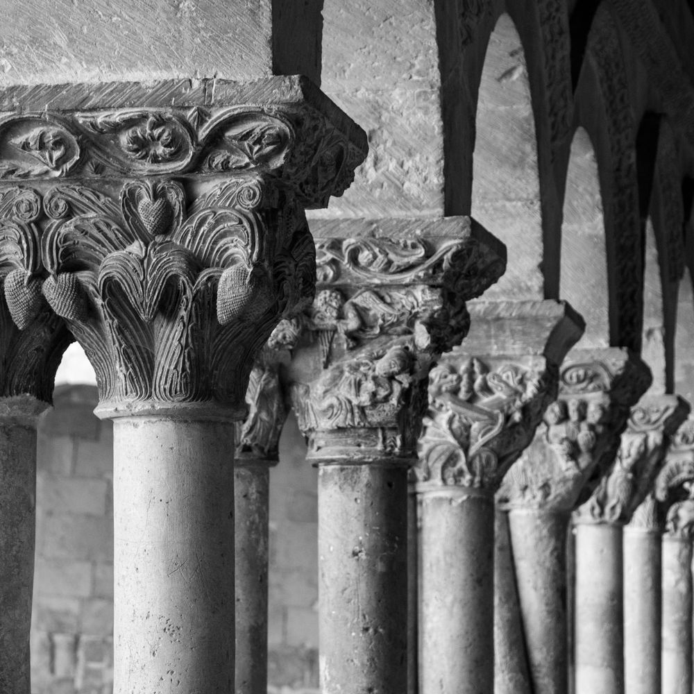 Detalle Claustro Monasterio de Silos. Burgos by JuanBlancoPhotography