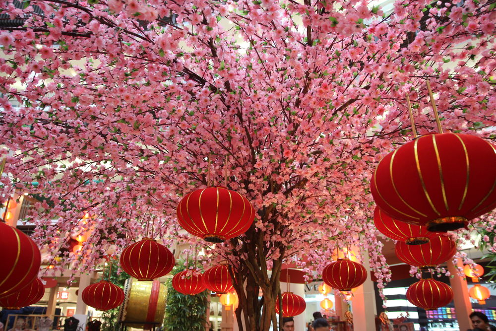 Chinese New Year decoration from the mall by fragranceumlee