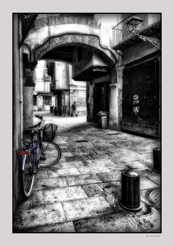 Barrio Gotico de Barcelona by joseantoniopuertolaslascorz