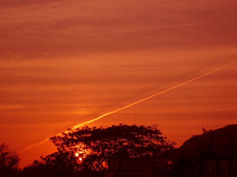 Sunset by Mantha.Sudhakar