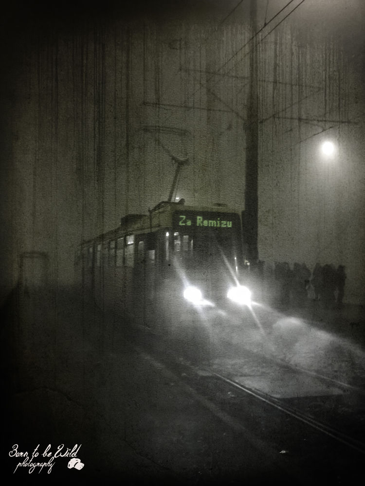 Horror tram by Irena McGregor