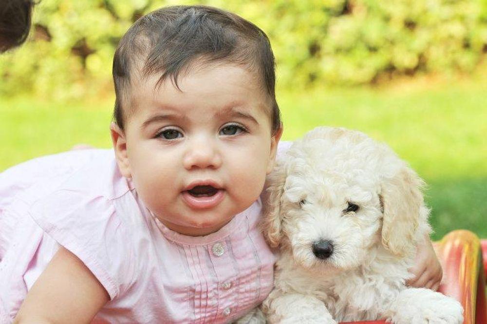 Lia and dog by carolekarmona