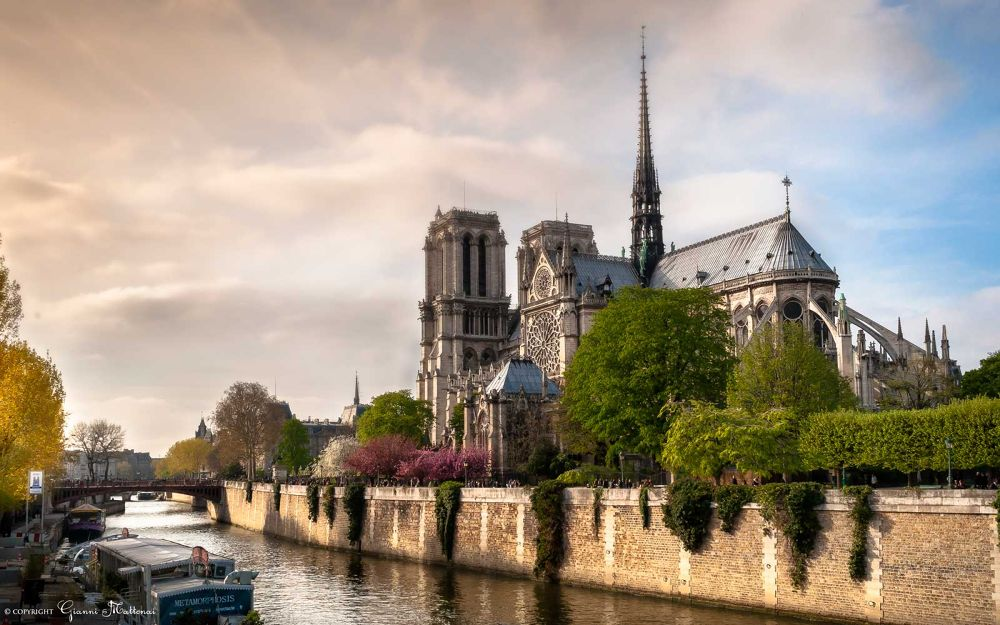 Notre Dame de Paris by giannimattonai
