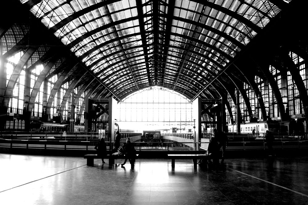 central station Antwerp by sonck henny
