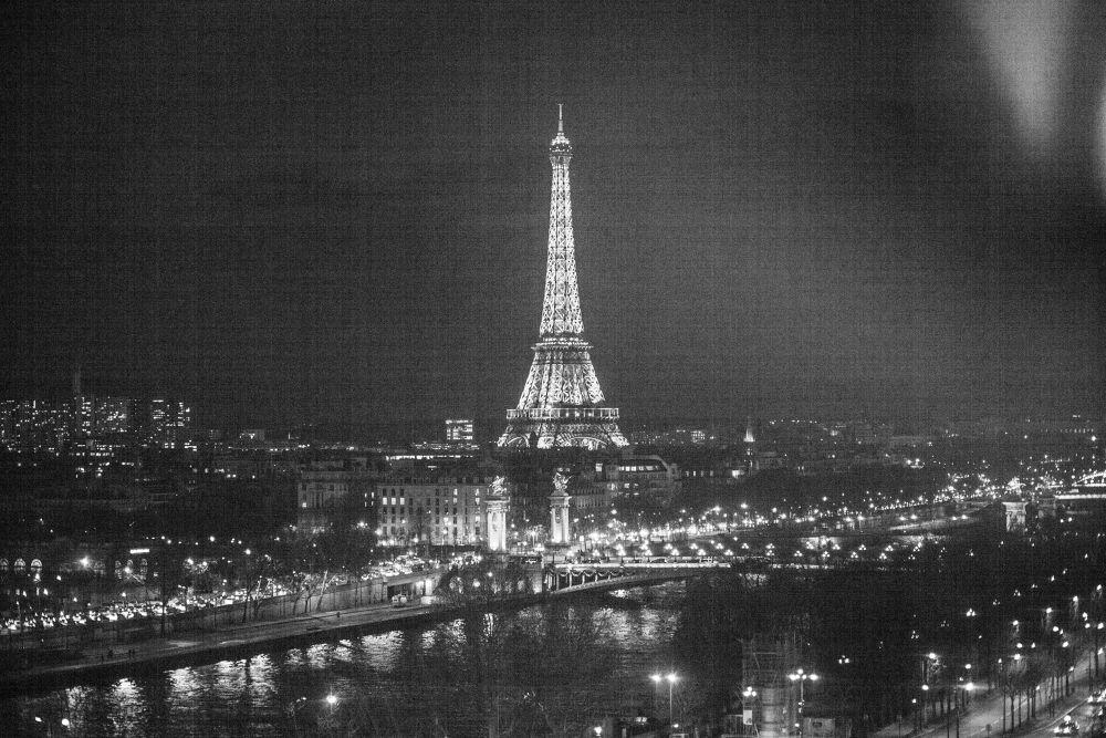 Paris in Nicht , I Love this city  by markus.nikola.mironovic