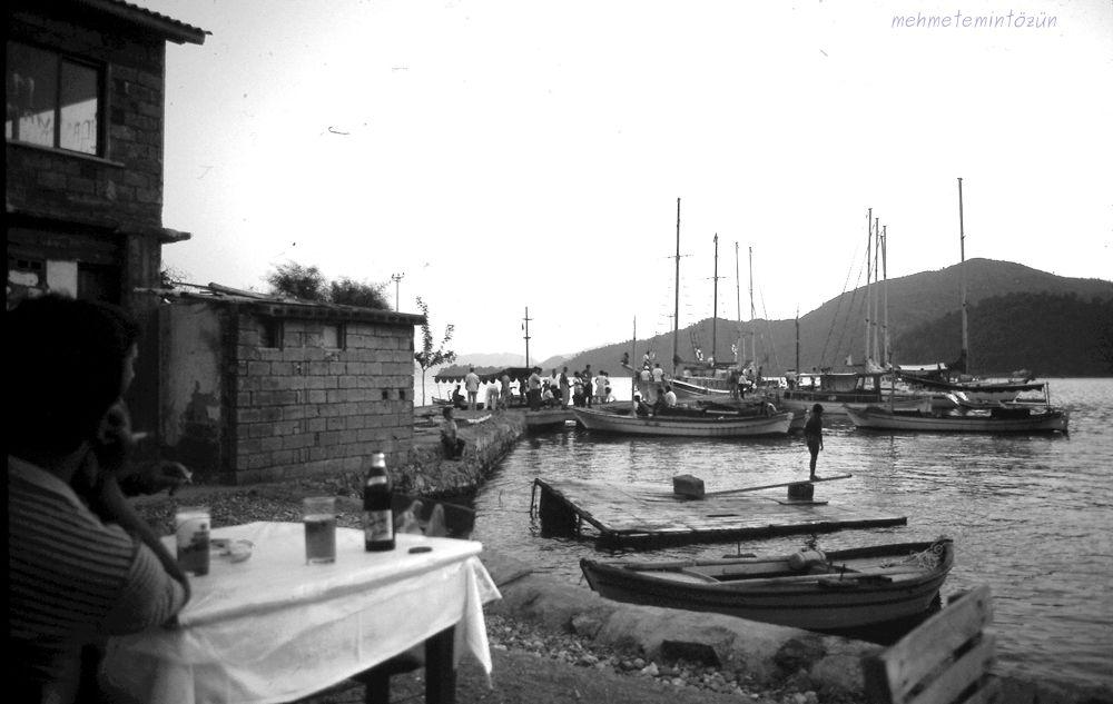 Göçek, near the Mediterranean Sea, Türkiye, 1982 by pinarcim