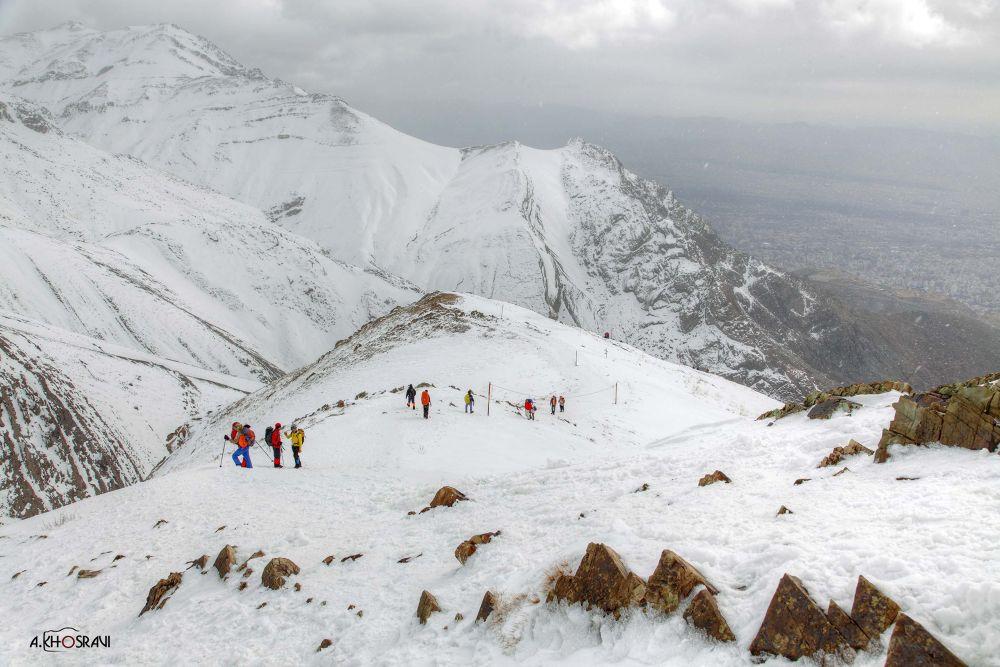 tochal montain  (Height 3964m) by Arash khosravi