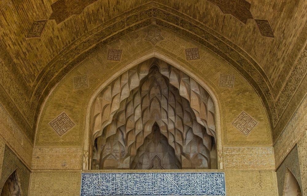 مسجد جامع اصفهان by Mahmood Asadzade Esfahani