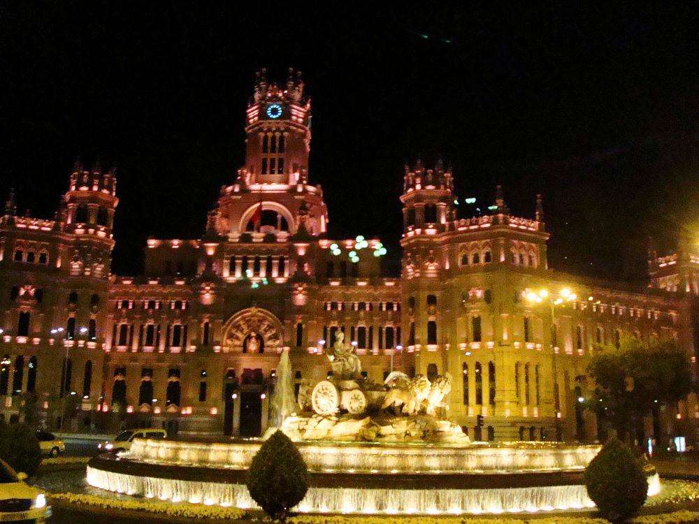 Night Madrid by SVK