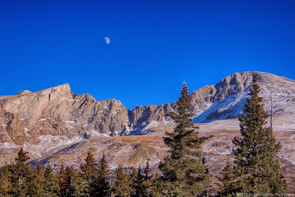 Bierstadt Moon by Rosalie Visions Photography