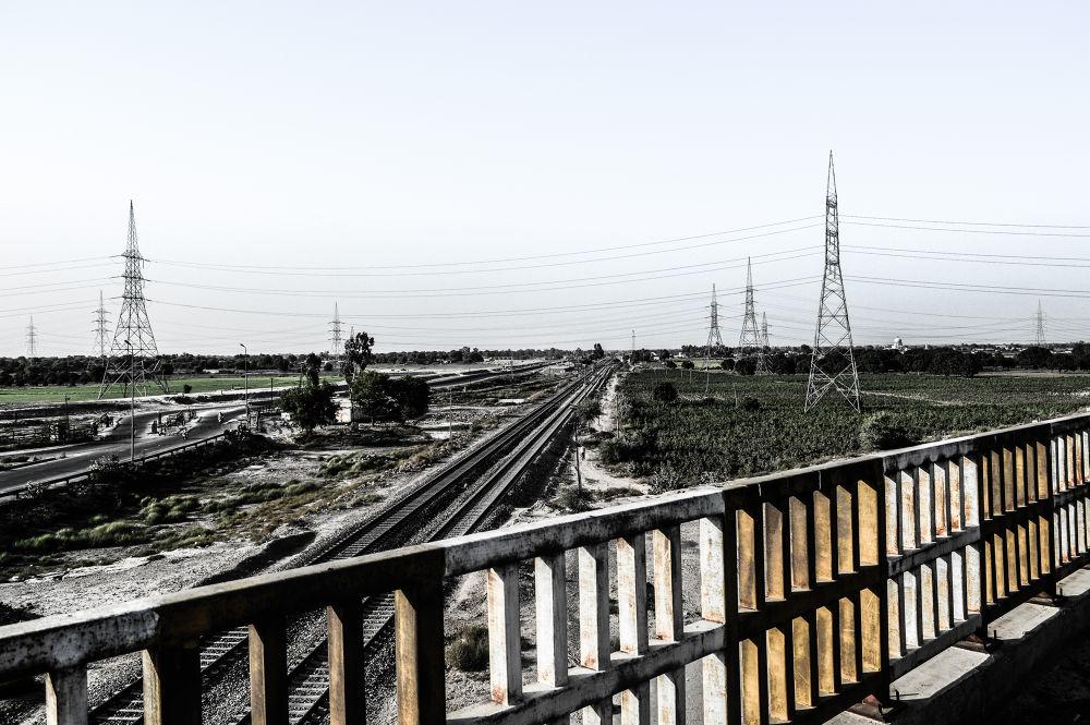 Railway track by Jawad Ghazanfar Naru