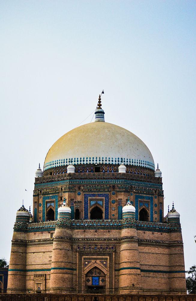 Multan...Shrine by Jawad Ghazanfar Naru