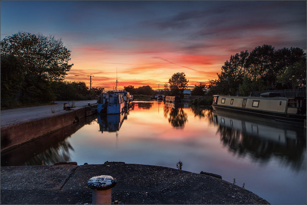 Sunset on Beverley Beck by Brianclark4