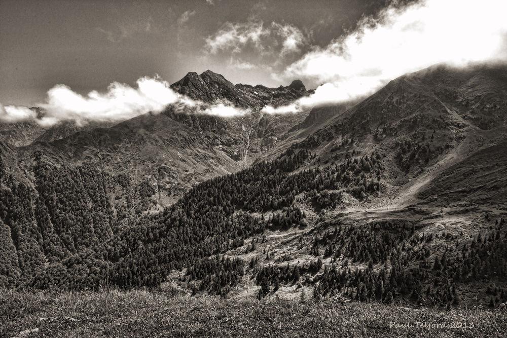 Pyrenees B&W by Paul Telford