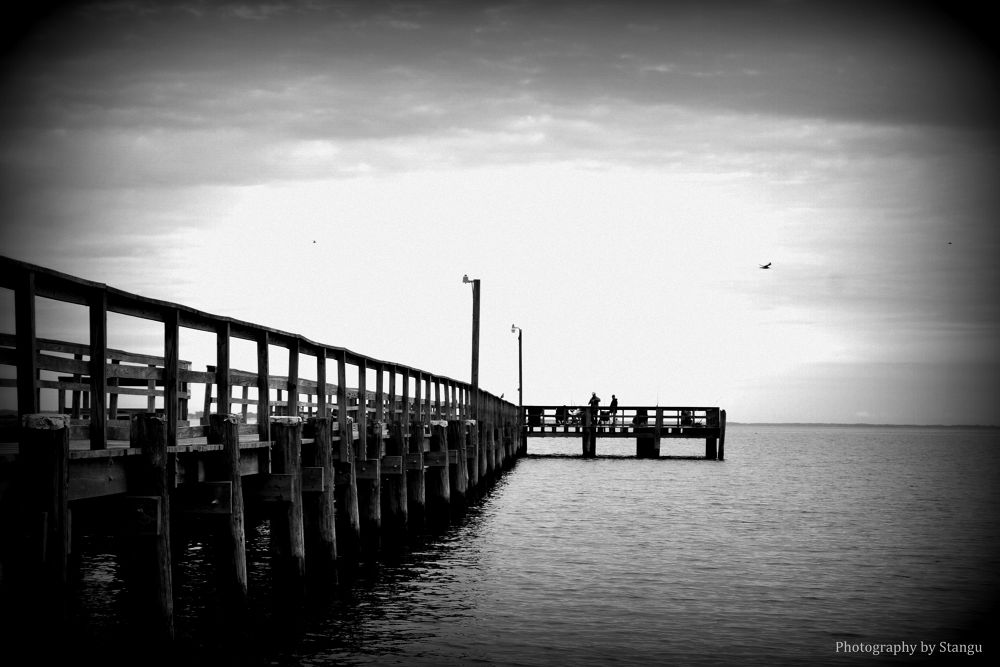 Old Pier by StanguPhotography