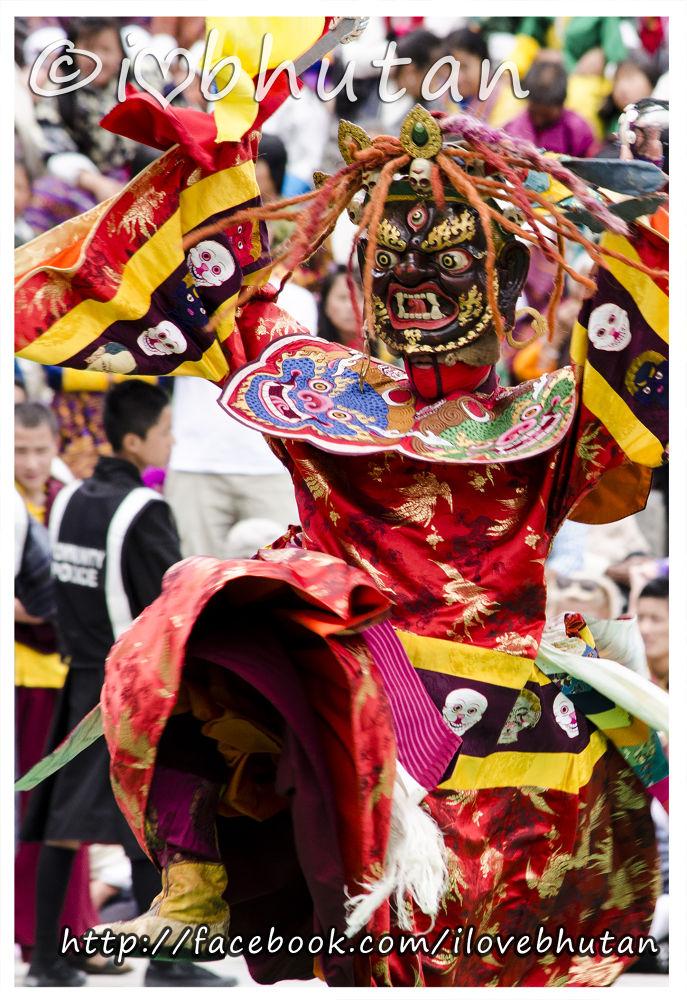 Fferociou Mask Danc from Bhutan by Ugyen Tshering