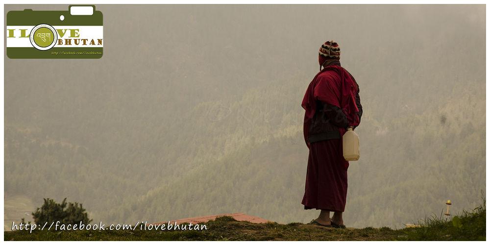 Open space in Bhutan by Ugyen Tshering