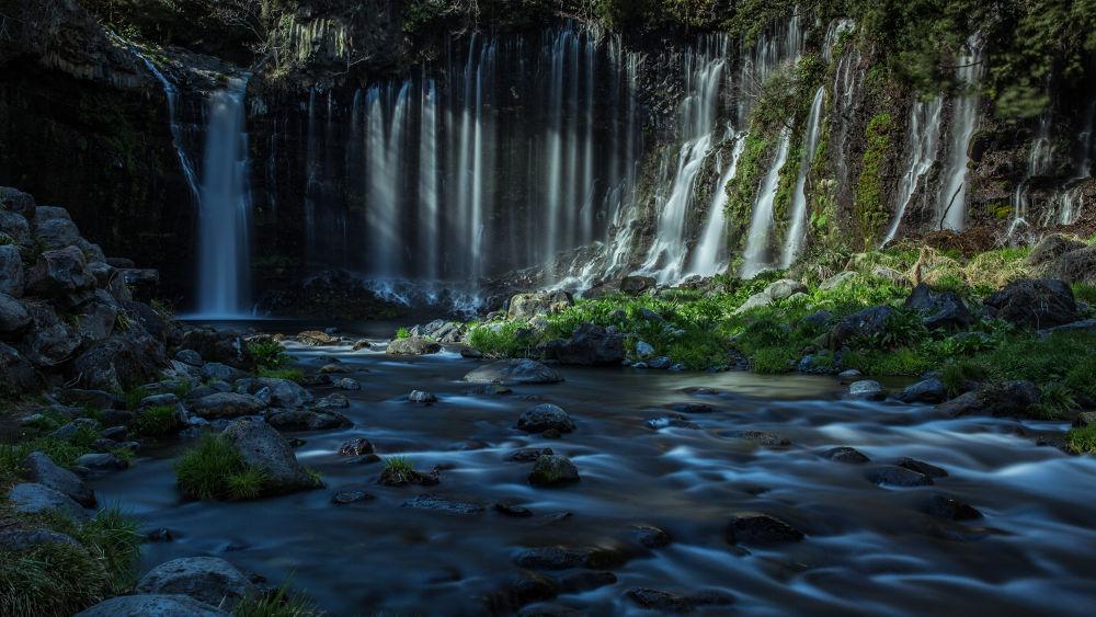 Shiraito Falls  by hidenobu_suzuki