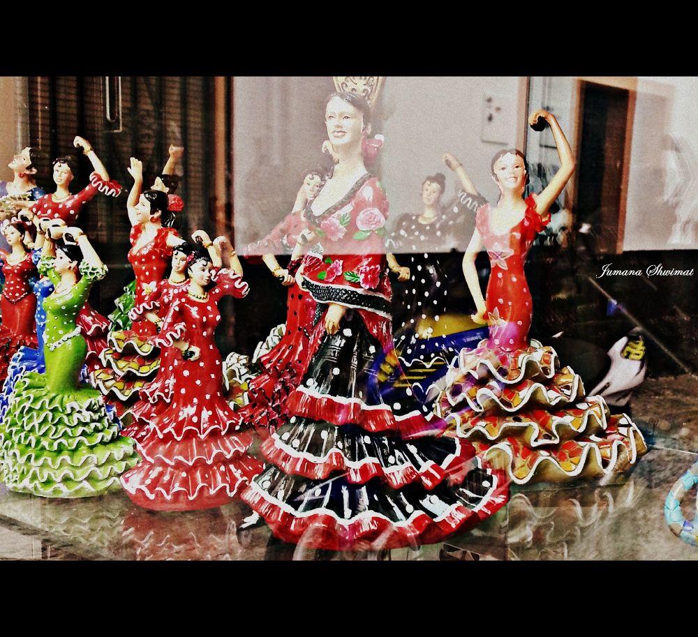 Flamenco by JumanaShwimat