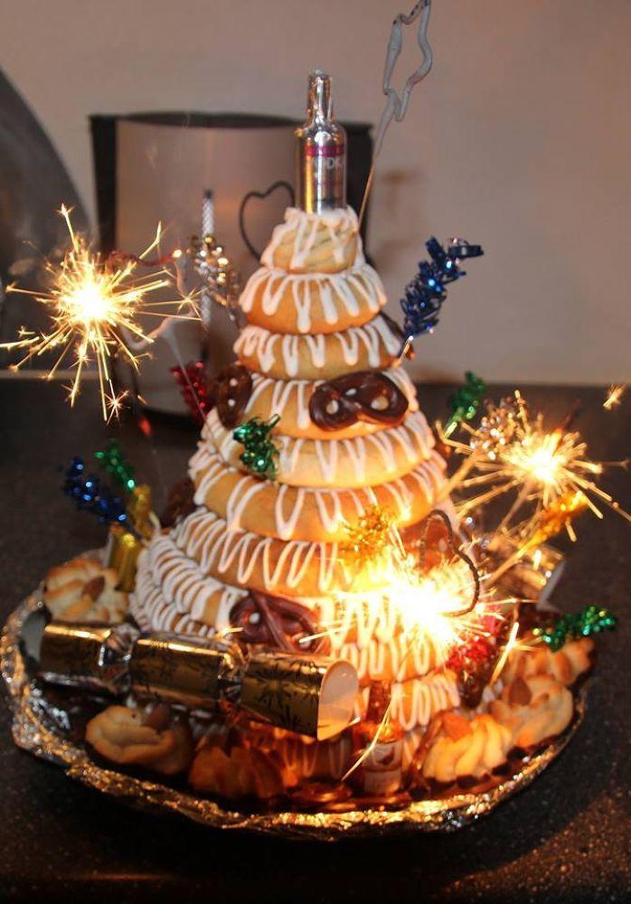 Danish new year cake by SBay