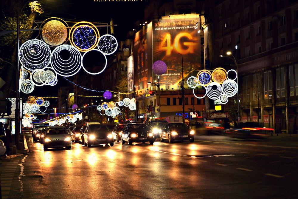 City lights by Adina C.