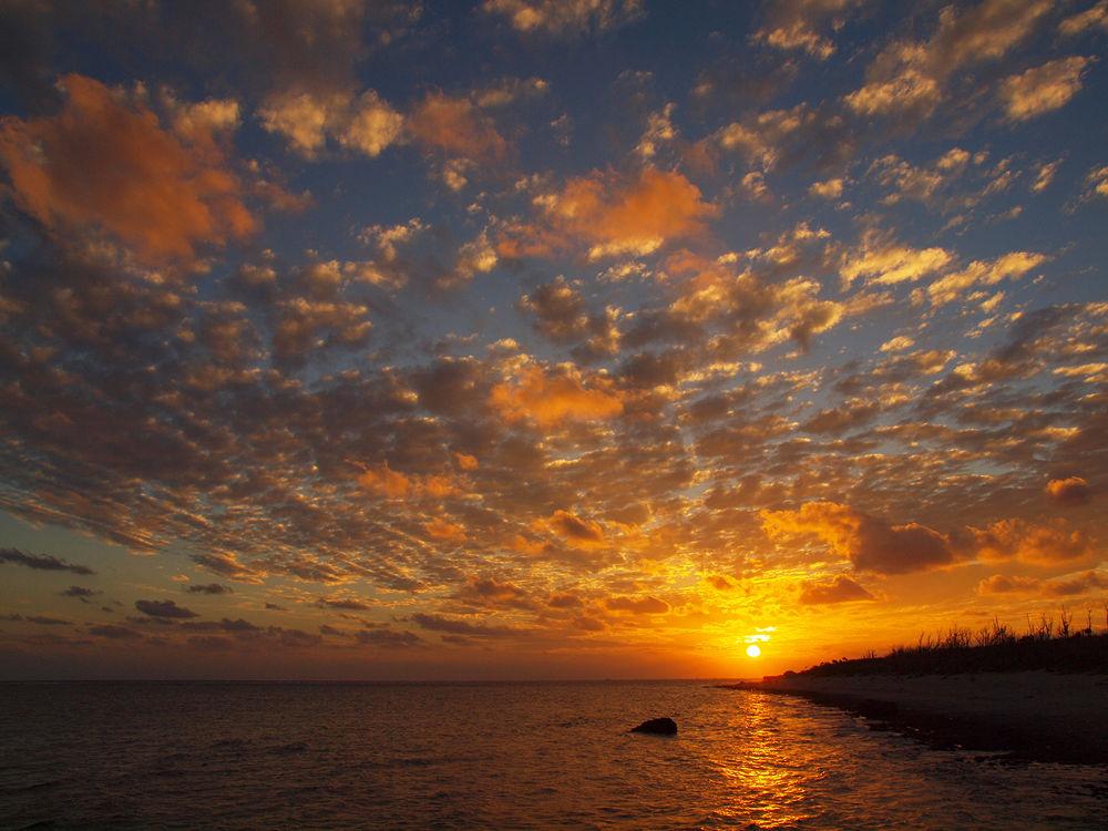 Sunset by Yoshiko Komatsu