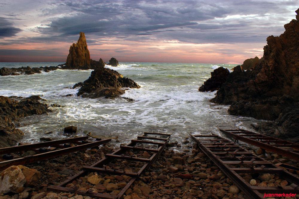 Photo in Random #almería #cabo de gata #andalucía #mar #playa #sea #beach #océano #ocean #picture #landscape #nature