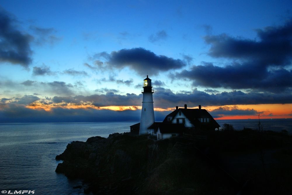 Portland Head Light by LMFK13