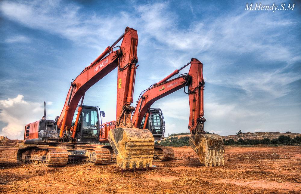Excavator by M.Hendy.S.M