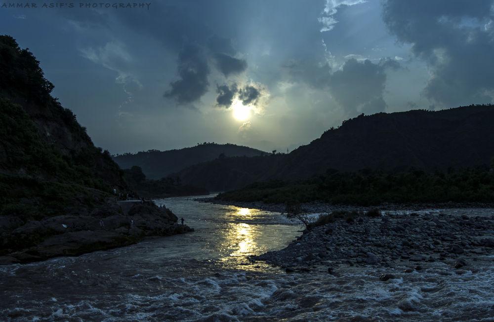 Sunset by AmmarAsif