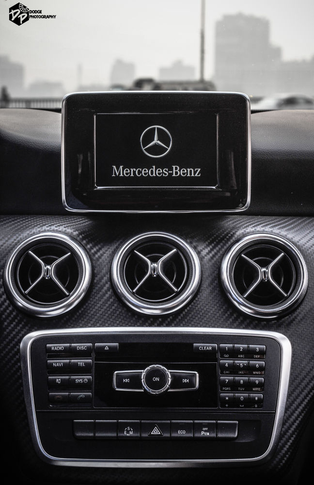 BENZO A200 AMG FROM INSIDE .....BY DODGE PHOTOGRAPHY by Abdullah Dodge