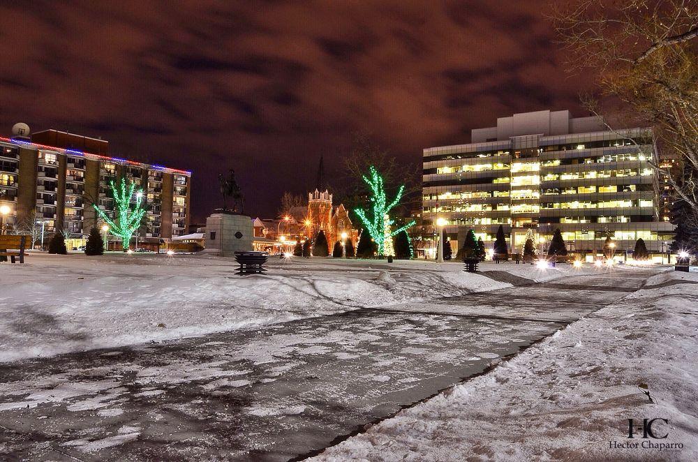 Winter night by hectorchaparro90